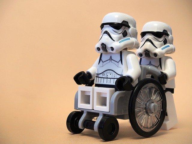 ダースベイダー車椅子